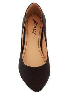 Top Billing Heel in Black, #ModCloth
