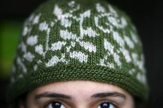 A fall inspired easy fair isle hat! FREE