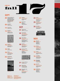 "another nice calendar. Love the ""waterfall"" feel of the tall narrow columns, dates that stand out well, interesting rhythm created with the placement and interesting relationship between vertical and horizontal images. Schedule Calendar, Calendar Layout, Event Calendar, Calendar Ideas, Graphic Design Calendar, Graphic Design Magazine, Mise En Page Magazine, Kalender Design, Schedule Design"