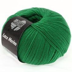 LACE Merino uni 33-emerald | EAN: 4033493139663