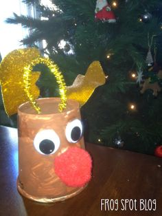 The Teaching Tribune:Paper Cup Reindeer
