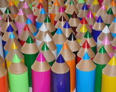 Lápis de cor para festa infantil