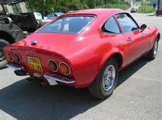 Back view 1973 Opel Gt