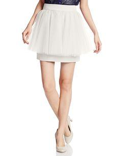 Amazon.co.jp: (スナイデル)snidel チュールぺプラムスカート SWFS145227 3 IVR 1: 服&ファッション小物通販