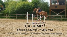 CA JUMP ! - Puissance 145 cm - Fête du club à l'Etrier Cherbourgeois 2017