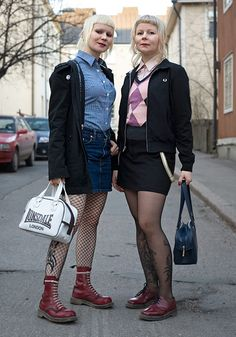 I just can't help it, I love skinhead girls... I can only hope to be this pretty when I get older.