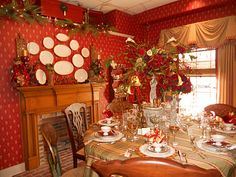 One of the rooms I did for the Christmas Open House '11