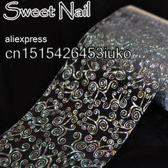 2015 new design fashion 3D nail sticker decal film is Pretty snail vine GL18