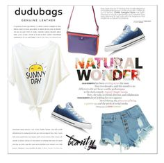 """dudubags"" by water-polo ❤ liked on Polyvore featuring WithChic, Converse, polyvoreeditorial and dudubags"