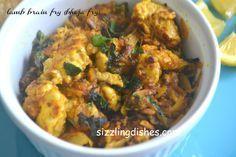 LAMB BRAIN FRY(BHEJA FRY)RECIPE - Sizzling Dishes