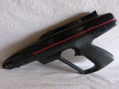 Vintage 1986 World of Wonder Laser Tag Starlyte Phaser Gun - Zapper Pistol