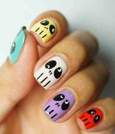 Simple Skull Nails Designs Rock imgdb815bd6634182dbe