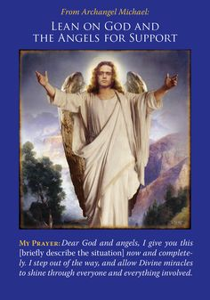 Oracle Card Lean On God And The Angels For Support | Doreen Virtue - Official Angel Therapy Website