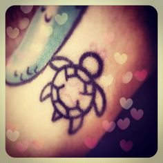 My favorite. My turtle tattoo :)