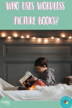 Why would you use wordless picture books in your house or classroom? What benefit could they possibly have? What if I told you that they can...