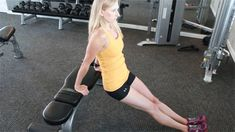 Highly effective tricep exercises.