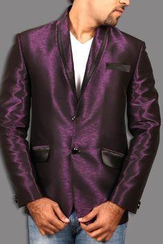 Suits for Men Mens Suits Online, Men Online, Reception Suits, Blazer Suit, Suit Jacket, Purple Blazers, Flamboyant, Blazers For Men, Different Fabrics