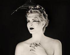 Dark flower Photo: Kyrre Wangen Model: Therese Artist: Stephanie Troye