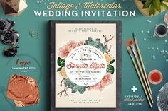 Popular Invitation Templates ~ Creative Market