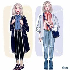 Noora skam by Alishaillustration on Etsy Source by spewylle skam style Look Fashion, Trendy Fashion, Fashion Outfits, Fashion Design, Noora Skam Style, Noora And William, Skam Aesthetic, Character Inspiration, Character Design