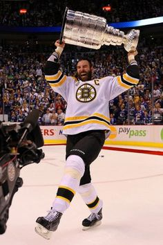 2011 - Zdeno Chara(Boston Bruins)  The biggest baddest mother in the valley!