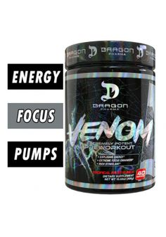 Dragon Pharma VENOM Venom Dragon, Bodybuilding, Matrix, Sports Nutrition, Workout, Training, Work Out, Work Outs, Excercise