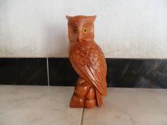 Blog de alissonesculturas :Esculturas em Madeira, Coruja pequena.