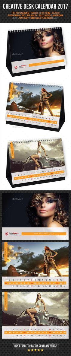Creative Desk Calendar 2017 V22 - Calendars Stationery                                                                                                                                                                                 More