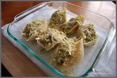 Pesto & Chicken Stuffed Shells Recipe - Sparkles of Sunshine