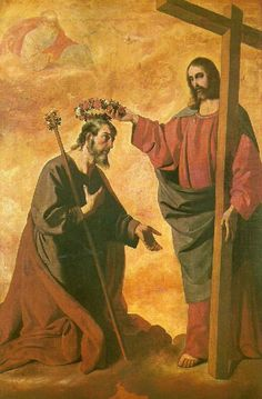 "The Coronation of Saint Joseph - ""If, then, Heaven made Joseph the protector of Jesus and Mary, we may rest assured that he was at the same time made protector and patron of all men.""— Edward Healy Thompson"