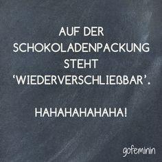 Unser Spruch des Tages! Noch mehr coole Sprüche haben wir für euch auf gofeminin.de!