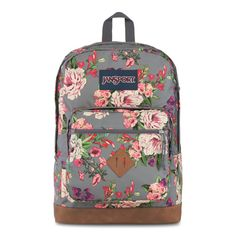 The Jansport City View backpack will help you stay on top of your studies in style! Made of their quality polyester construction, the backpack also has a synthetic leather bottom for increased durability. The adjustable shoulder straps provide a snug and Luggage Backpack, Jansport Backpack, Laptop Backpack, Backpacks For Sale, School Backpacks, Fashion Handbags, Tote Handbags, Backpack Pattern, Backpack Reviews