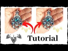 How to make earrings at home? We will teach you how to create your pieces, at no cost, completely for free. Want to learn how to make necklaces, earrings, ri. Seed Bead Earrings, Ring Earrings, Beaded Earrings, Seed Beads, How To Make Necklaces, How To Make Earrings, Earring Tutorial, Diy Tutorial, Learn To Sew