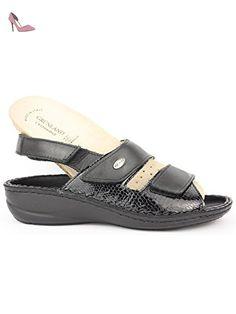 GRUNLAND , Sandales pour femme - Noir - Nero, 40 EUR EU - Chaussures grunland (*Partner-Link)