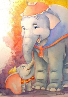 Dumbo and Mrs. Jumbo by Michelle St. Laurent