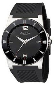 Kenneth Cole New York Silicone Men'S Watch Black Rubber Bands, Watches For Men, Women's Watches, Beautiful Watches, Stainless Steel Case, Smart Watch, All In One, Fantasy, Shopping