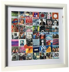 Title: A 60th commission from a wife to her husband. September 2018 This montage features square prints to match the format of the box frame and has over 146 silver pins holding the 72 images in place. Each row of images depicts a different aspect of Ian's life... places he lived, places he worked, his hobbies, his family etc, etc. Box Frames, Ranges, Squares, Hobbies, September, Elephant, Photo Wall, Husband, Places