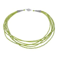 Sensational Olivine Necklace   Fusion Beads Inspiration Gallery