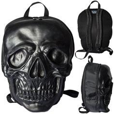 Giant Skull backpack from Kreepsville666, I so want this!!