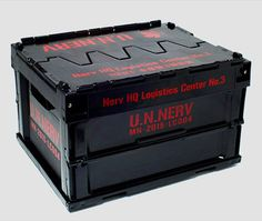 AmiAmi [Character & Hobby Shop]   Rebuild of Evangelion - NERV Headquarters 3rd Depot Foldable Container Mini 2nd Version(Released)