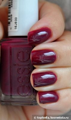 My baby got this for me!!! 3/13    Essie №44 Bahama mama