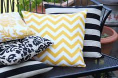 How to Make a Pillow  Simple Sewing 'http://www.lowpricefabric.com/c-138-outdoor-fabric.aspx