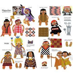 Chile, Teaching Culture, Elementary Spanish, Inca, Xmas Crafts, Softies, Folk Art, Comics, History