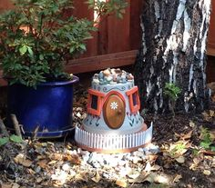26 Beautiful Simple and Inexpensive Garden Projects Realized With Clay Pots homesthetics decor ideas (1)