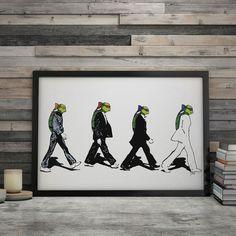 Is it The Beatles? No it is The Turtles. The Turtles av DØLT. Det er ikke så DØLT som det høres ut som! Plakaten finner du i nettbutikken!