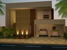 Projeto de uma Casa Contemporânea - Condomínio Alphaville - Ribeirão Preto - SP - Projeto: MB Arquitetura e Interiores