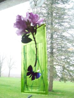 Fused Glass Vase- perfect Mother's Day gift $25.00