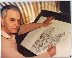 Jack Kirby drawing