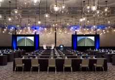 Metropolis Ballroom - Corporate Event. A swanky event perfect for Luxe Chocolat.