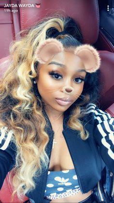 Baddie Hairstyles, Black Girls Hairstyles, Weave Hairstyles, Pretty Hairstyles, Protective Hairstyles, Hair Inspo, Hair Inspiration, Sew In Wig, Hair Laid